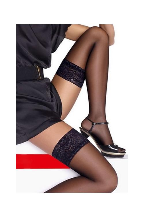 Punčochy Felice černé - černá