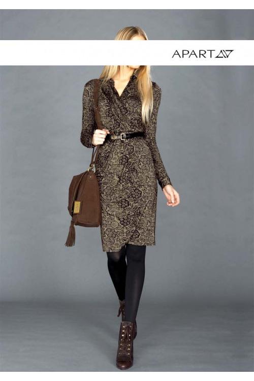 Zavinovací dámské šaty (vel.36 skladem 1 ks)