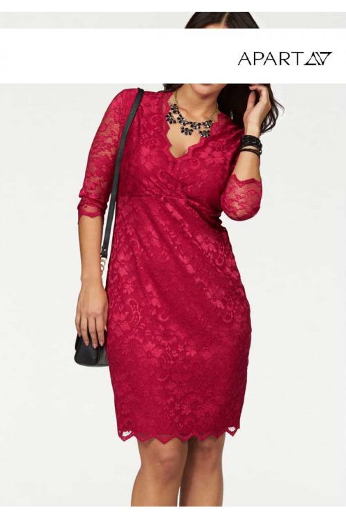 Krajkové šaty, APART (vel.52 skladem)