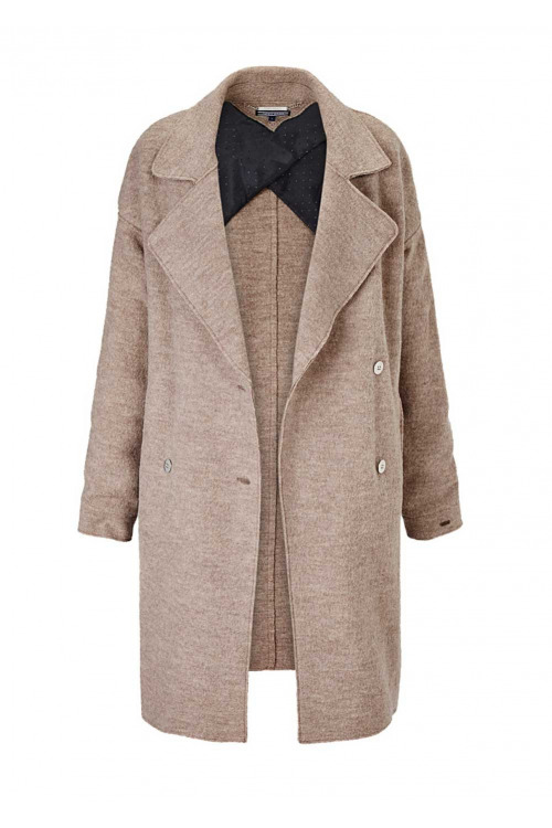 Luxusní značkový vlněný kabát TOMMY HILFIGER (vel.L skladem)