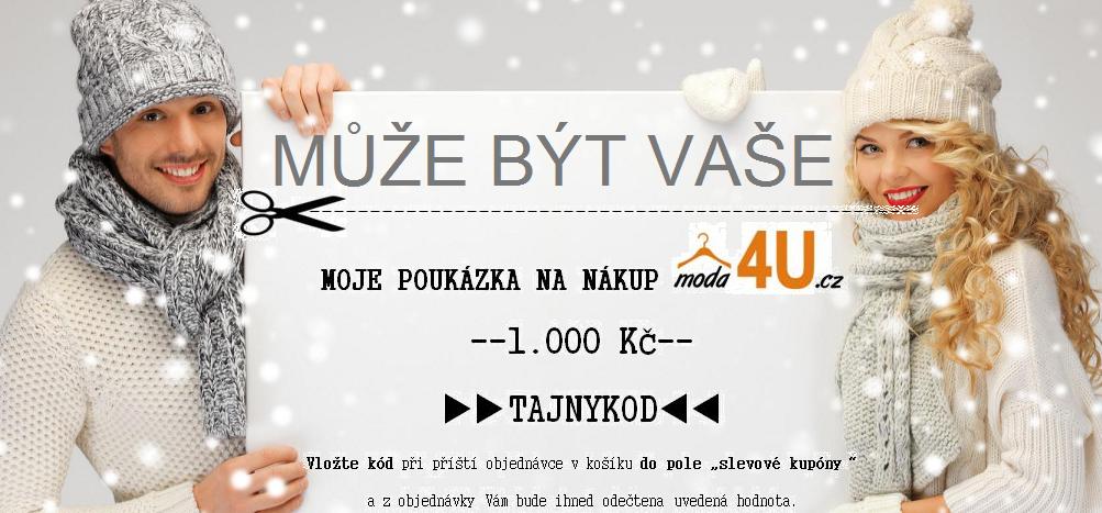 Soutěž Moda4U.cz, soutěže o ceny na internetu