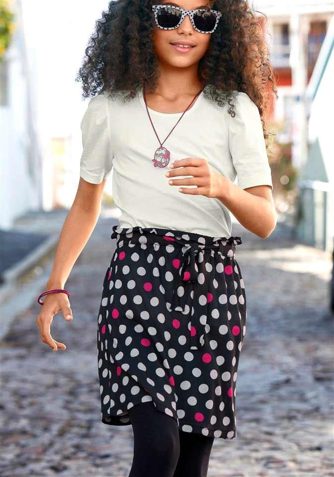 Dívčí souprava halenka a sukně CFL