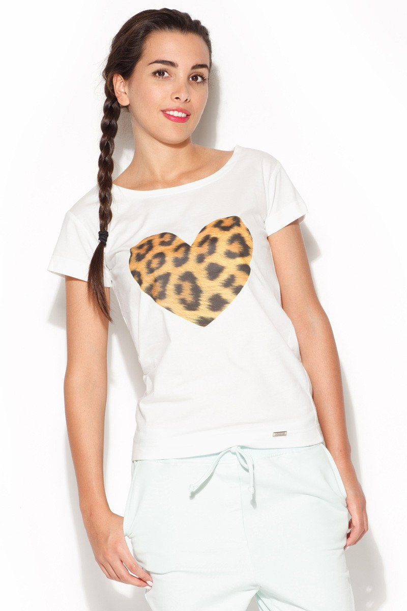 Trička, dámské tričko s krátkým rukávem, KATRUS