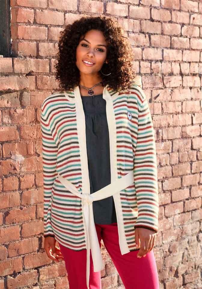 Svetry pro plnoštíhlé, značkový svetr s kapucí KangaROOS