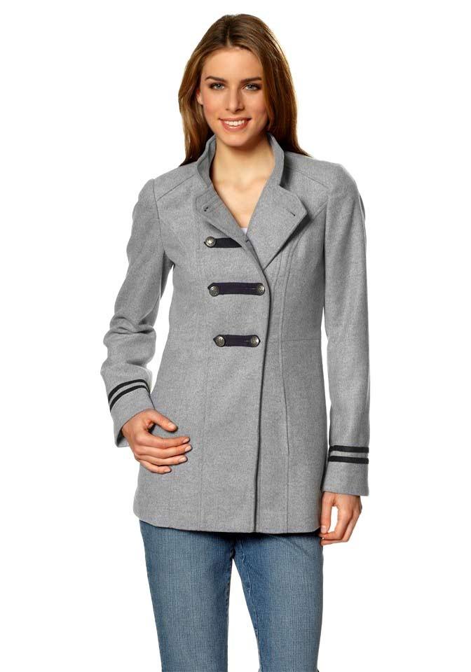Vlněný krátký dámský kabát, Vivien Caron
