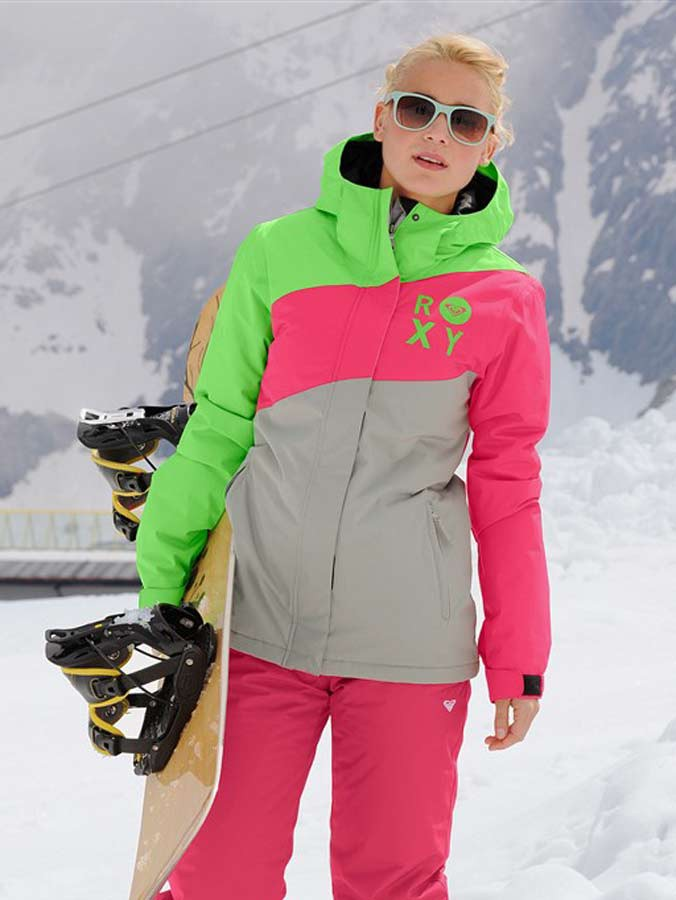 Značková snowboardová dámská zimní bunda ROXY (vel.XL skladem)