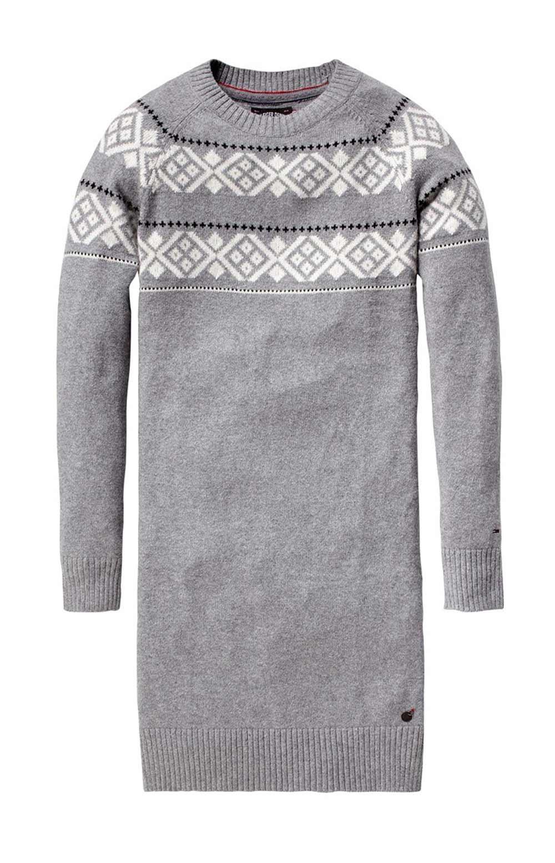 Značkové dámské pletené šaty HILFIGER DENIM (vel.S skladem)
