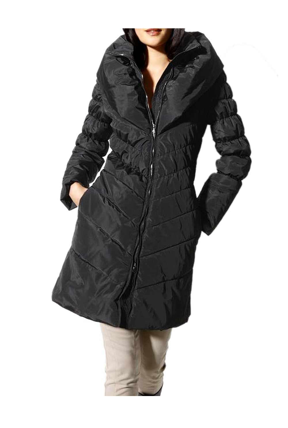 Péřový zimní kabát levně (vel.34 skladem)