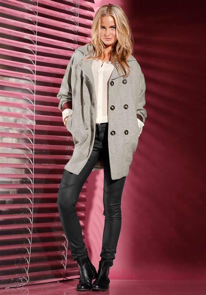 Dámský vlněný kabát, dámský značkový kabát (vel.L,XL skladem)