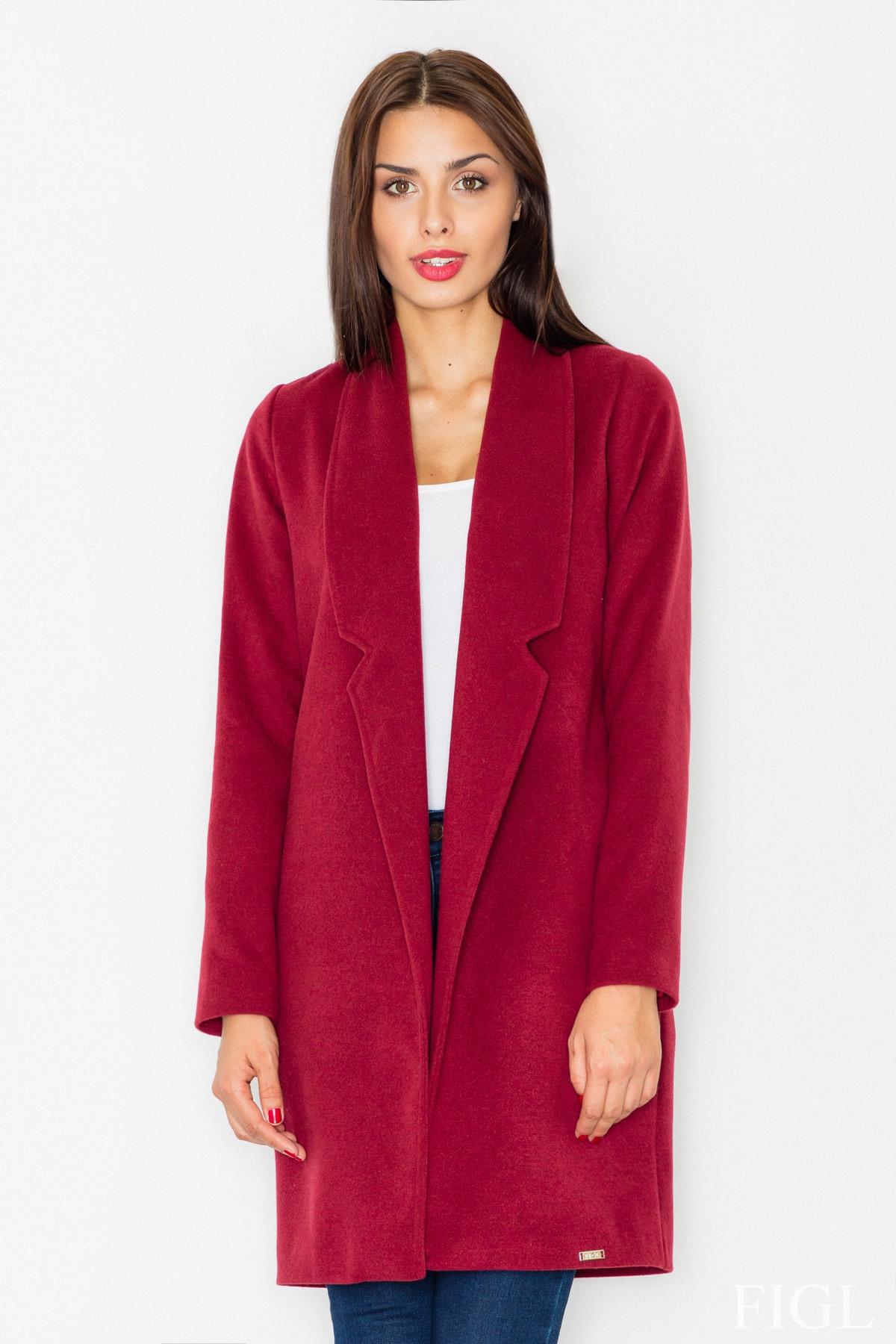 Krátký kabát FIGL, kratší zimní dámský kabát