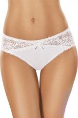 Bavlněné kalhotky 111 bílé - bílá