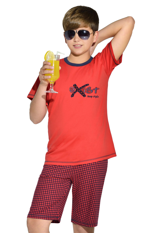 Chlapecké pyžamo Moro - červená
