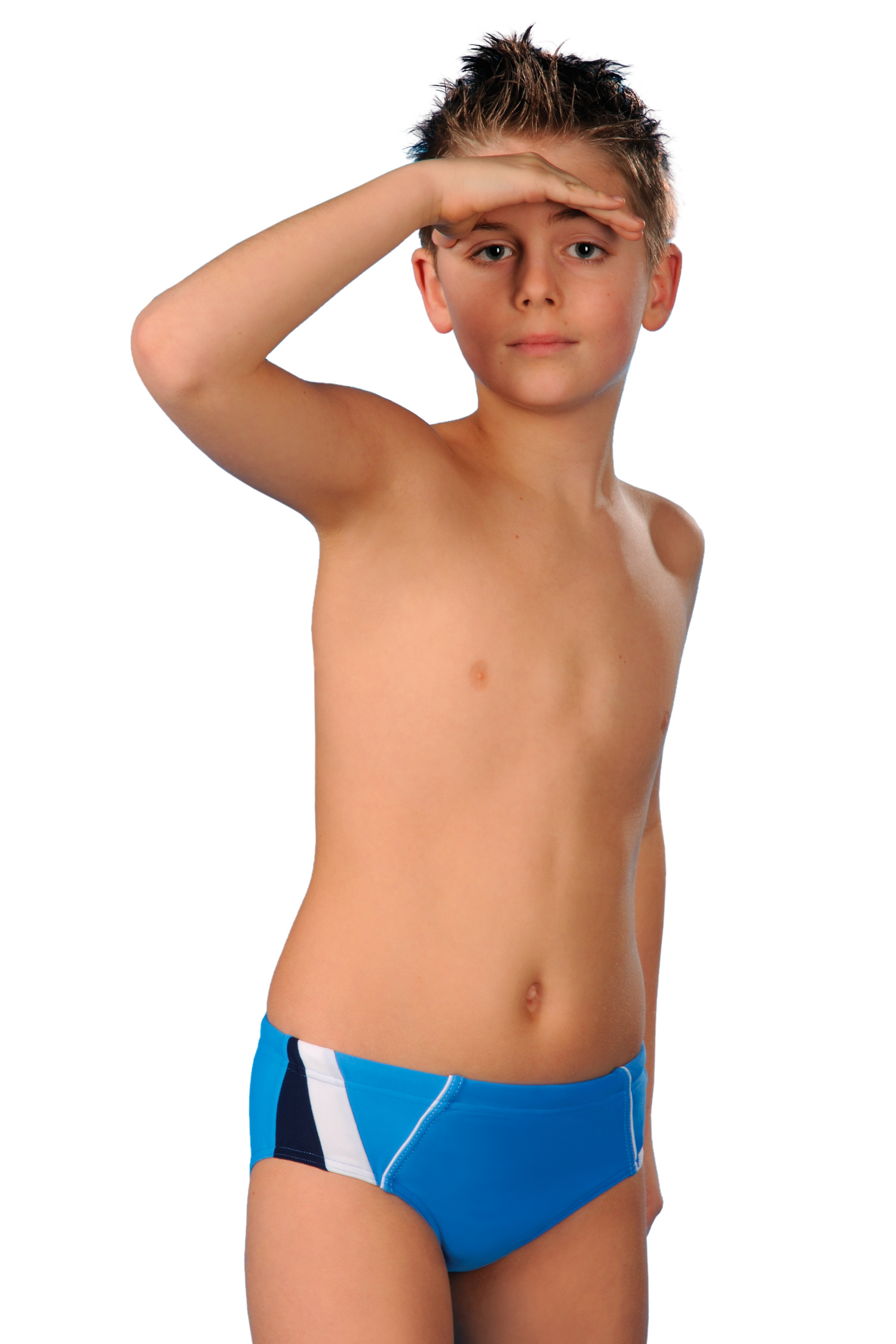 Plavky chlapecké Kaja I modré - modrá