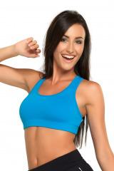 Fitness podprsenka Nika modrá