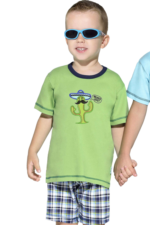 Dětské pyžamo František - zelená
