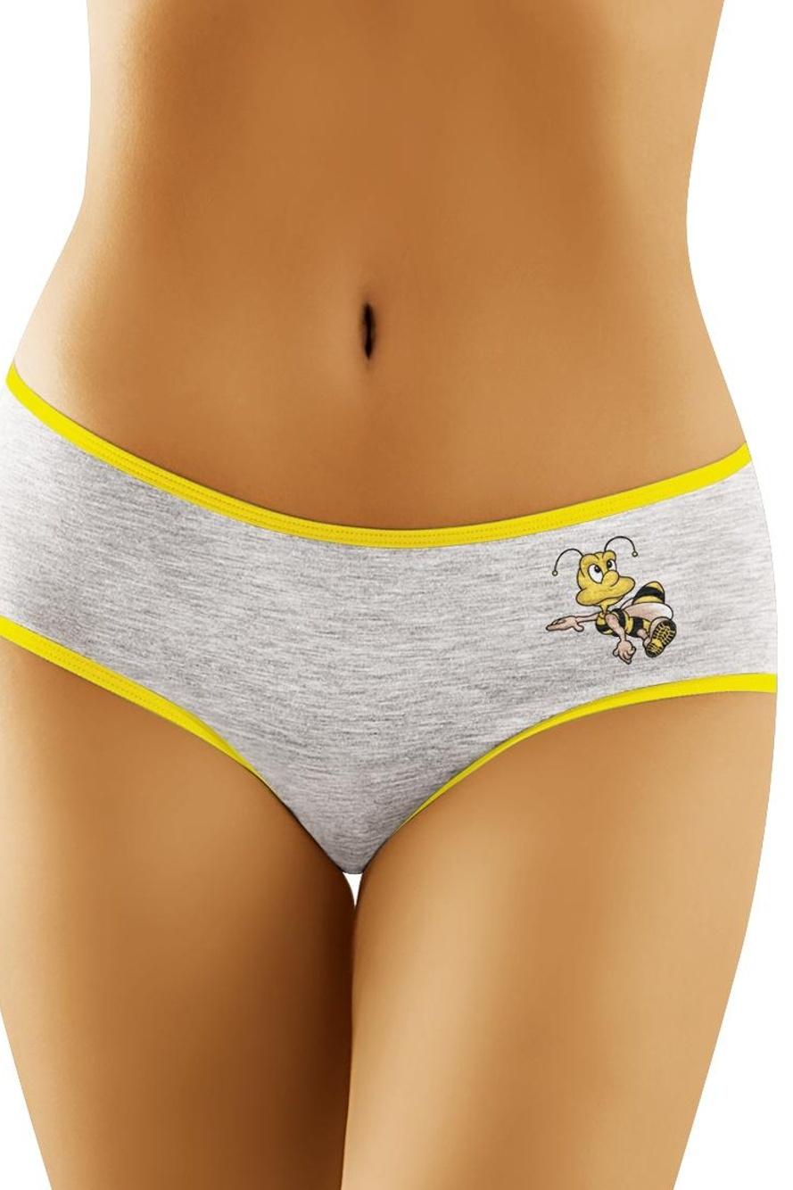 Kalhotky Včelka - šedá