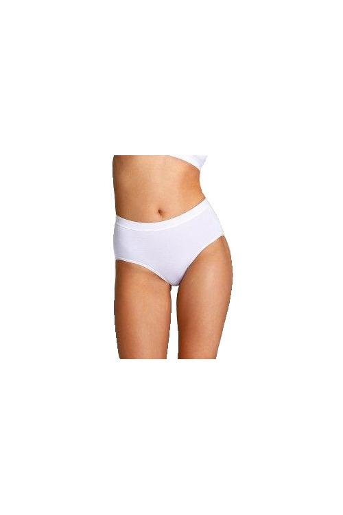 Dámské kalhotky s vyšším pásem Stefanie bílé