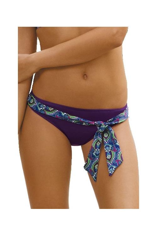 Plavkové kalhotky Isabel fialové
