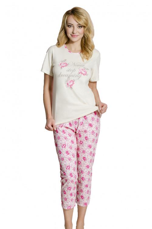 Dámské pyžamo Rosie růžičky