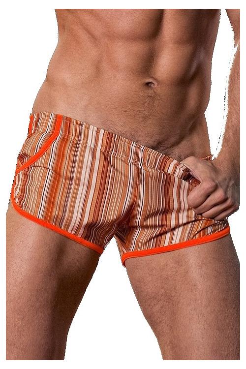 Alpha Male plavky Imago orange - béžová