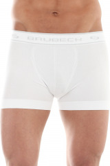 Pánské boxerky Brubeck Comfort Cotton bílé - bílá
