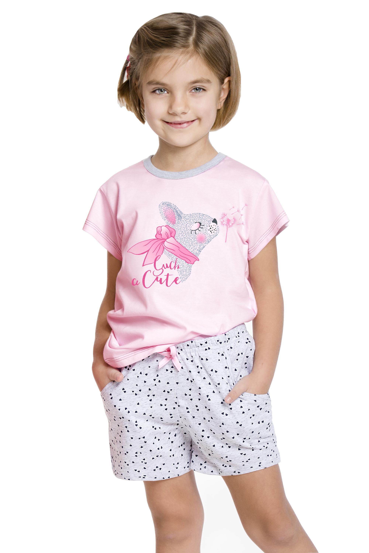 Dívčí  pyžamo Vanessa růžové - růžová