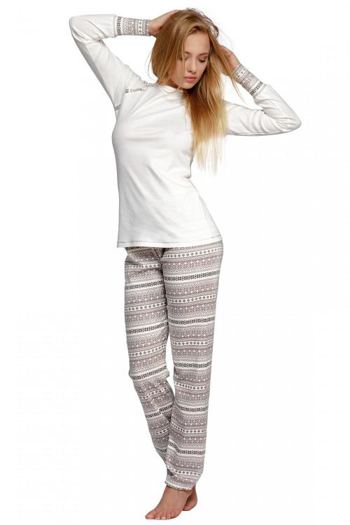 Dámské bavlněné pyžamo Norveg