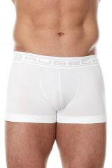 Pánské boxerky Shortbox Comfort Cotton bílé - bílá