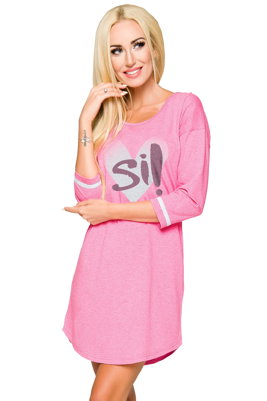 Dámská noční košile Hana růžová