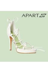 Sandálky, svatební páskové sandálky