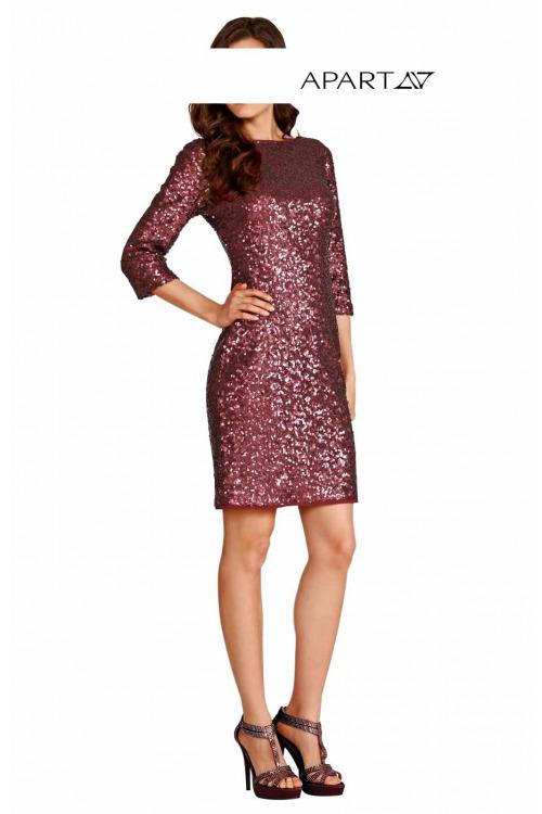 Flitrové šaty