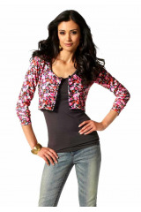 Bolerko, krátký pletený svetřík Laura Scott