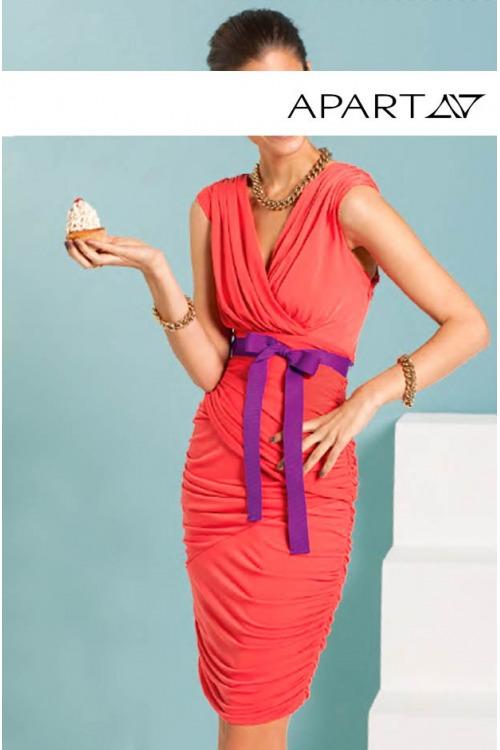 Nabírané letní šaty APART