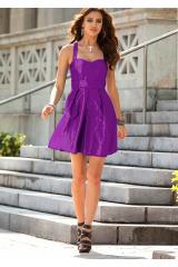 Krátké taftové šaty Laura Scott
