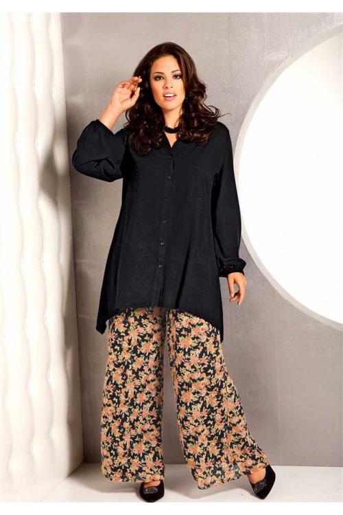 Letní kalhoty pro plnoštíhlé, nadměrné velikosti