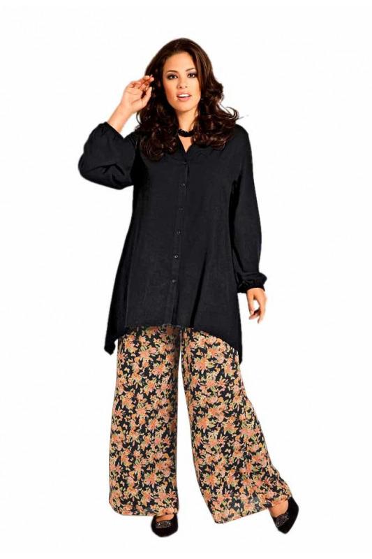 Letní kalhoty pro plnoštíhlé fab75eea52