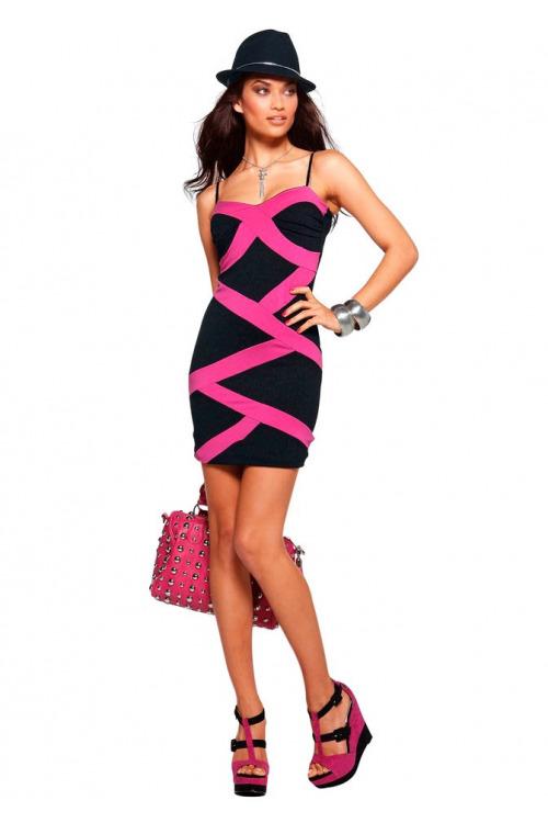 Sexy šaty MELROSE (vel.36 skladem)