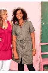 Letní šaty ve stylu Safari Your Life Your Fashion