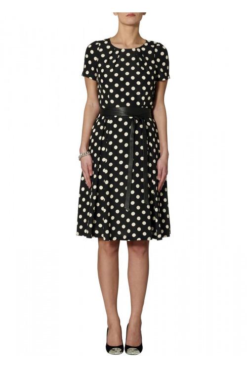 Šaty s puntíky (vel. 36 skladem levně)
