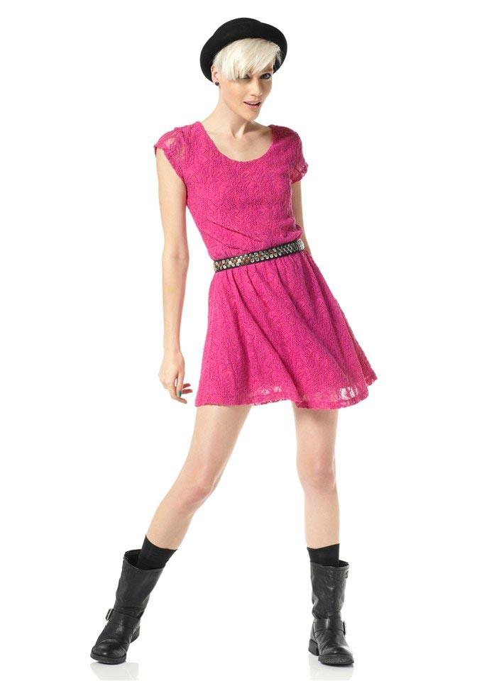 Krajkové šaty Material Girl