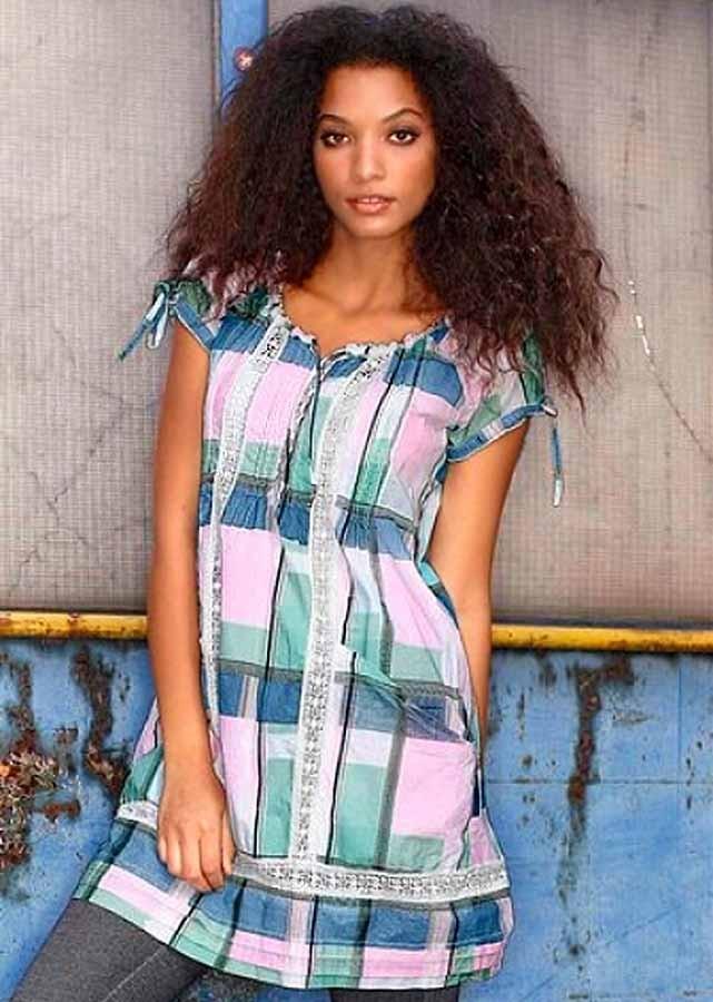 Značkové šaty levně, šaty Tom Tailor s krajkou