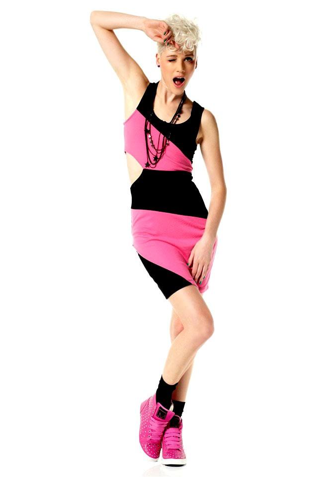 Šaty pro mladé, šaty Material Girl