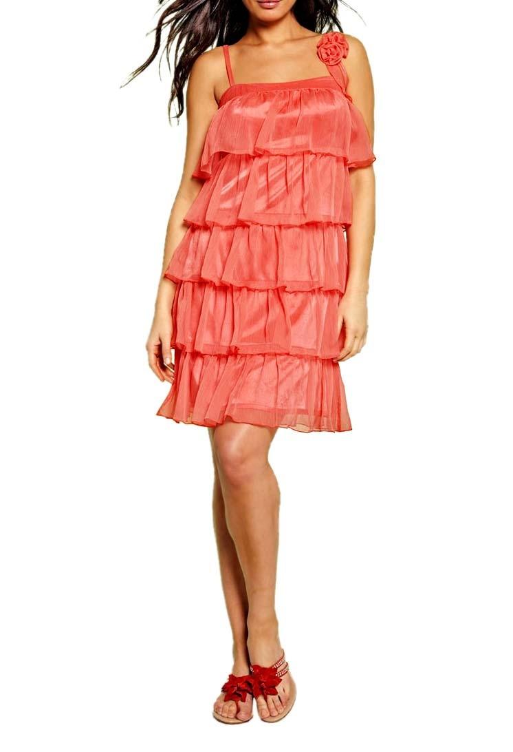 Šifonové šaty APART s volány