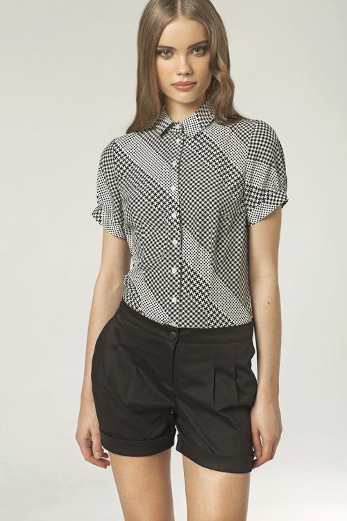 Dámská košile s krátkým rukávem, Nife (vel.38 skladem)