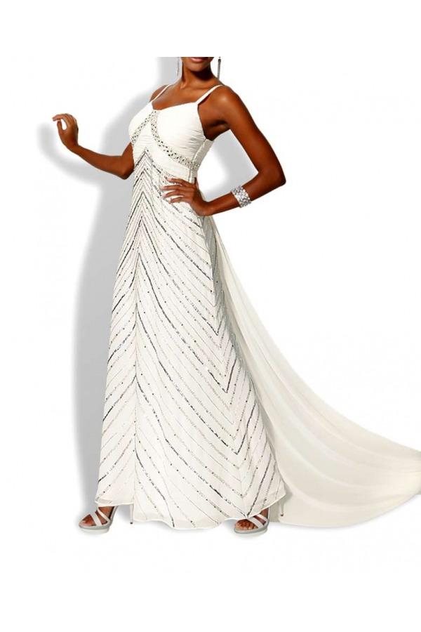 Skladem Svatební šaty levně a0bcb483f3