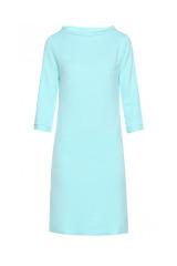 Šaty FIGL, pouzdrové šaty s lodičkovým výstřihem a stojáčkem (vel.M a L skladem)