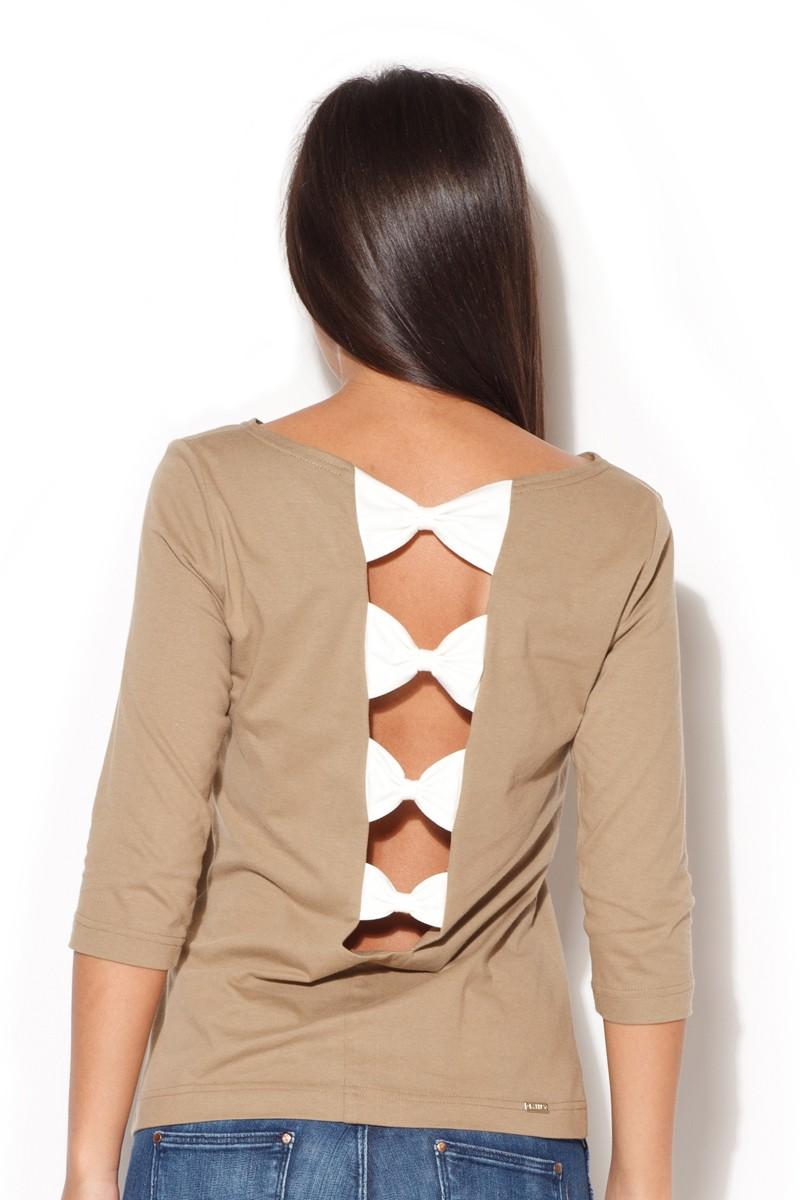 Trička, dámské tričko s delším rukávem, KATRUS (vel.M skladem)