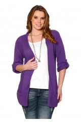 Pletený svetr, Sheego dámský svetr také pro plnoštíhlé