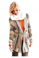 Dlouhý pletený svetr, CHEER