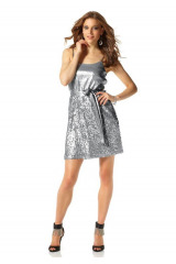 Třpytivé šaty s flitry, pajetkové šaty, flitrové šaty Laura Scott Evening